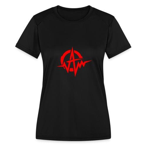 Amplifiii - Women's Moisture Wicking Performance T-Shirt