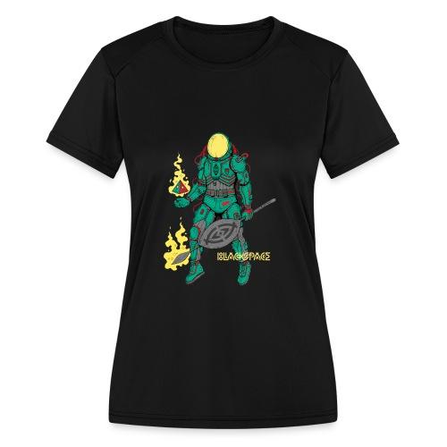 Afronaut - Women's Moisture Wicking Performance T-Shirt