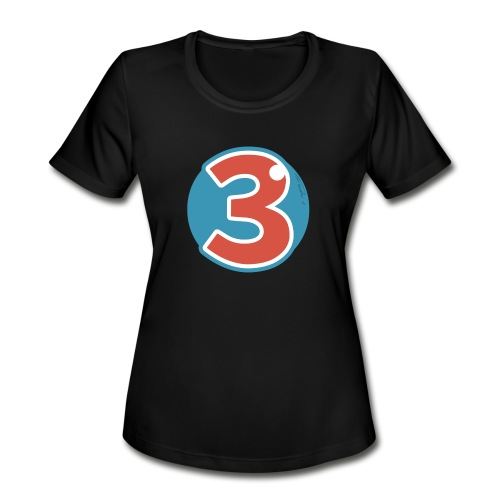3 Years - Women's Moisture Wicking Performance T-Shirt