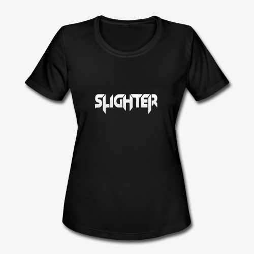 Slighter Logo - Women's Moisture Wicking Performance T-Shirt