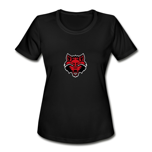 Red Wolf - Women's Moisture Wicking Performance T-Shirt
