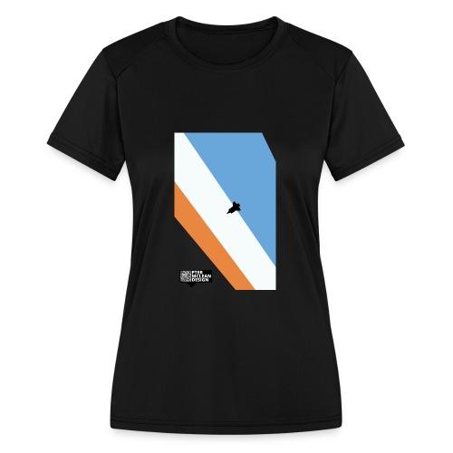 ENTER THE ATMOSPHERE - Women's Moisture Wicking Performance T-Shirt