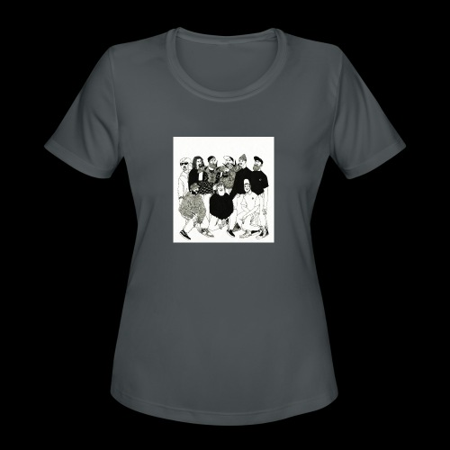 The DBD Show EP Cover Art - Women's Moisture Wicking Performance T-Shirt