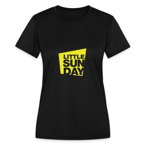 littleSUNDAY Official Logo - Women's Moisture Wicking Performance T-Shirt
