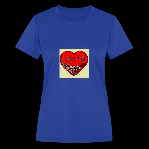 DE1E64A8 C967 4E5E 8036 9769DB23ADDC - Women's Moisture Wicking Performance T-Shirt