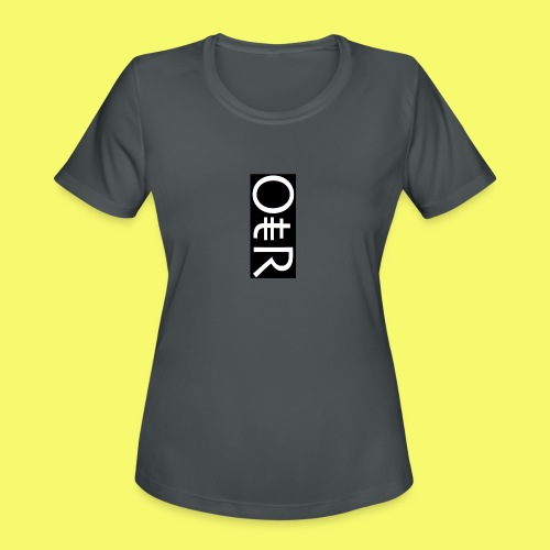 OntheReal coal - Women's Moisture Wicking Performance T-Shirt
