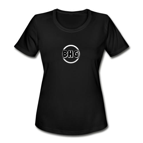 My YouTube logo with a transparent background - Women's Moisture Wicking Performance T-Shirt