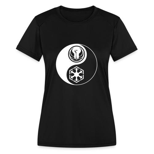 Star Wars SWTOR Yin Yang 1-Color Light - Women's Moisture Wicking Performance T-Shirt
