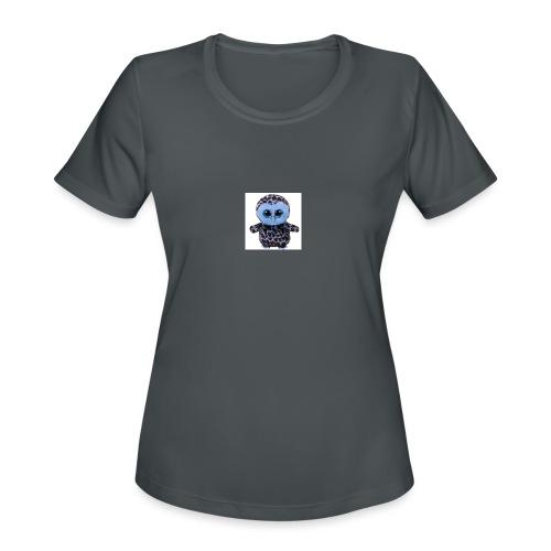 blue_hootie - Women's Moisture Wicking Performance T-Shirt
