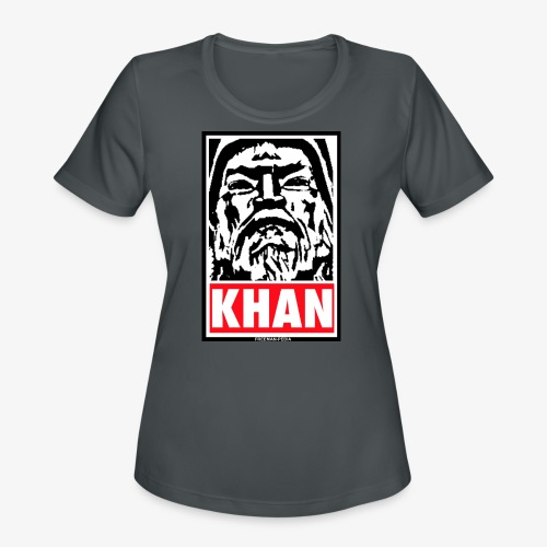 Obedient Khan - Women's Moisture Wicking Performance T-Shirt