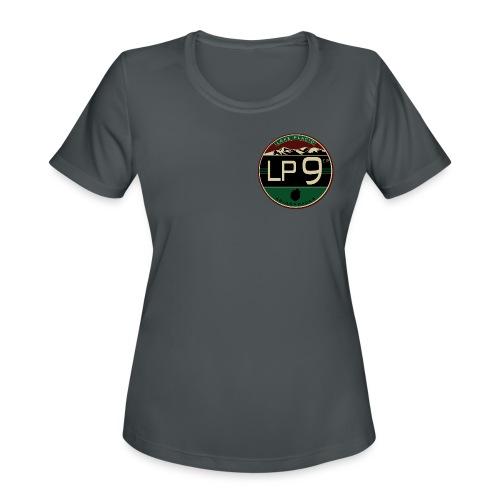 LP9'er Logo - Women's Moisture Wicking Performance T-Shirt