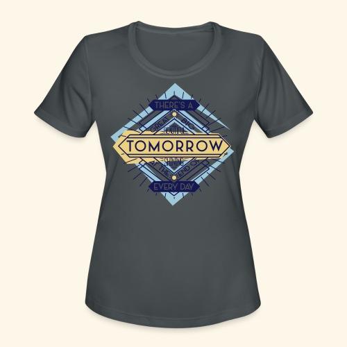 Carousel's Promise - Women's Moisture Wicking Performance T-Shirt