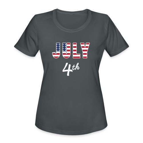 July 4th - Women's Moisture Wicking Performance T-Shirt