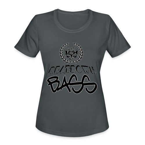 BEATDOWN BLACK LOGO - Women's Moisture Wicking Performance T-Shirt