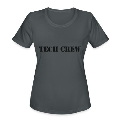 Tech Crew - Women's Moisture Wicking Performance T-Shirt