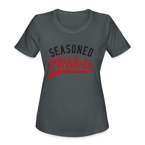 Seasoned Athlete - Women's Moisture Wicking Performance T-Shirt