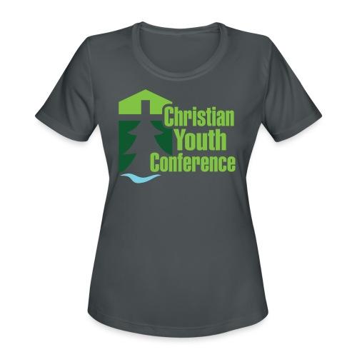 CYC Logo - Women's Moisture Wicking Performance T-Shirt