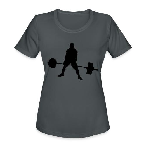 Powerlifting - Women's Moisture Wicking Performance T-Shirt