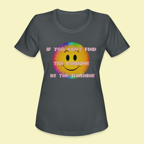 Sunshine - Women's Moisture Wicking Performance T-Shirt