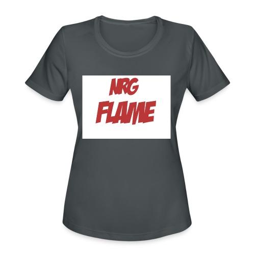 FLAME - Women's Moisture Wicking Performance T-Shirt