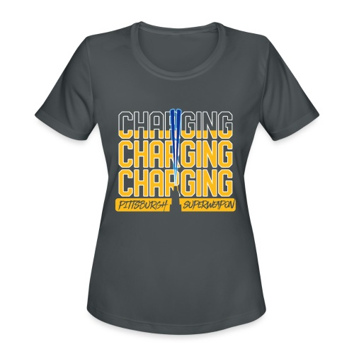 Pittsburgh Superweapon II - Women's Moisture Wicking Performance T-Shirt