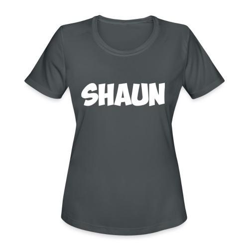 Shaun Logo Shirt - Women's Moisture Wicking Performance T-Shirt