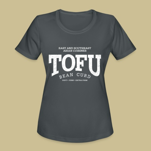 Tofu (white oldstyle) - Women's Moisture Wicking Performance T-Shirt