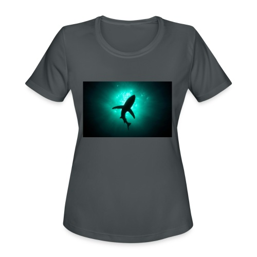 Shark in the abbis - Women's Moisture Wicking Performance T-Shirt