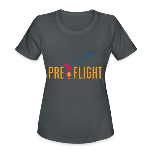 PreFlight Aviation Camp - Women's Moisture Wicking Performance T-Shirt