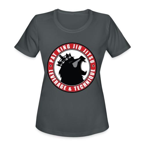 PK Merch grey22 - Women's Moisture Wicking Performance T-Shirt