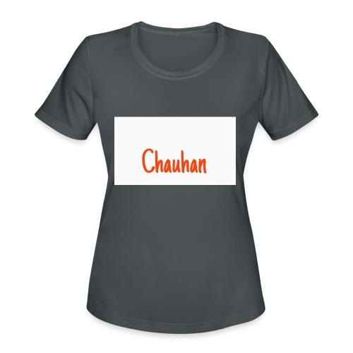 Chauhan - Women's Moisture Wicking Performance T-Shirt