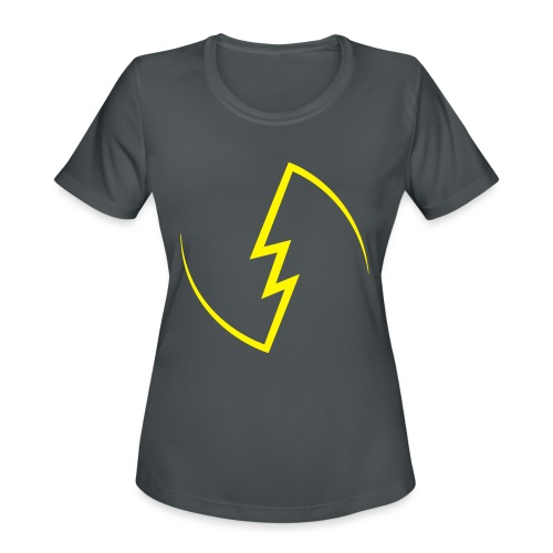 Electric Spark - Women's Moisture Wicking Performance T-Shirt