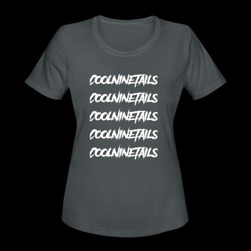 Multi Name - Women's Moisture Wicking Performance T-Shirt