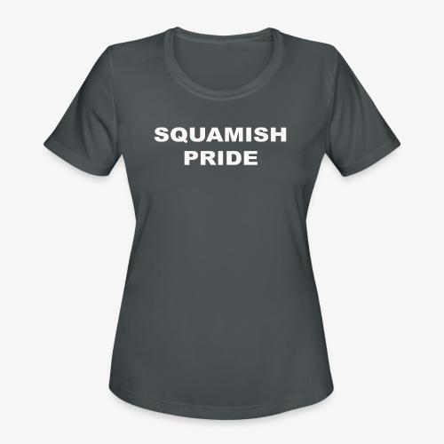 SQUAMISH PRIDE - Women's Moisture Wicking Performance T-Shirt