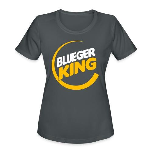 Blueger King - Women's Moisture Wicking Performance T-Shirt