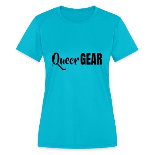 Queer Gear T-Shirt - Women's Moisture Wicking Performance T-Shirt