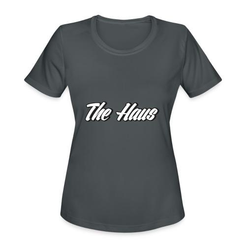 The Haus Logo - Women's Moisture Wicking Performance T-Shirt