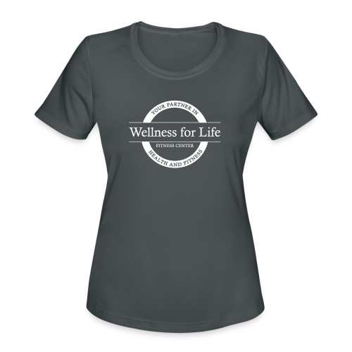 White WFL Logo - Women's Moisture Wicking Performance T-Shirt