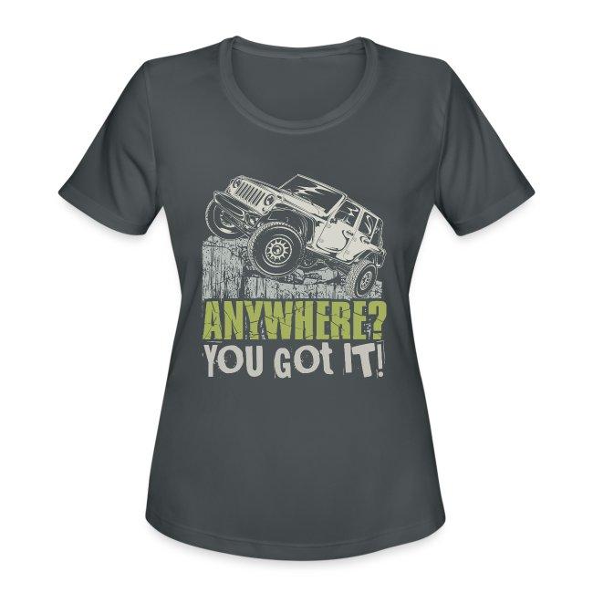 Go Anywhere Vehicle