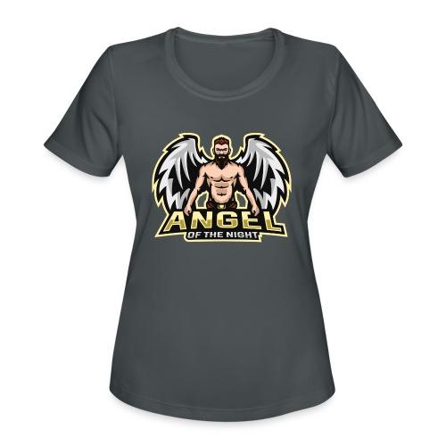 AngeloftheNight091 T-Shirt - Women's Moisture Wicking Performance T-Shirt