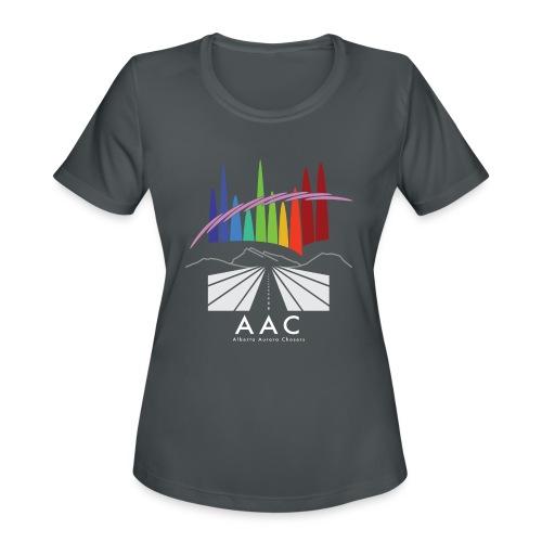 Alberta Aurora Chasers - Men's T-Shirt - Women's Moisture Wicking Performance T-Shirt