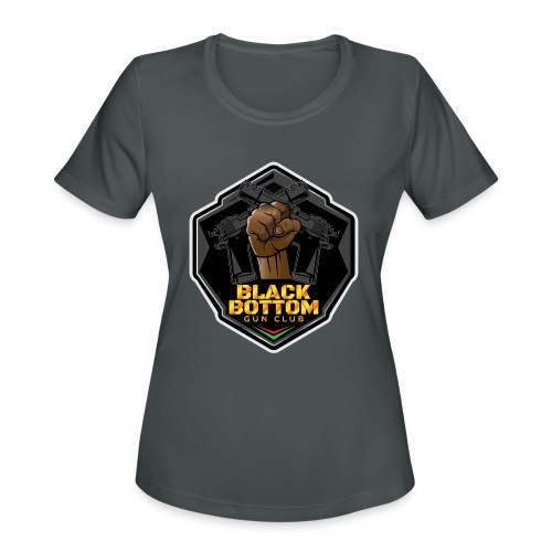 Black Bottom Gun Club - Women's Moisture Wicking Performance T-Shirt