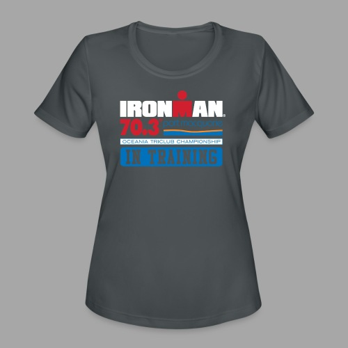 70.3 Port Macquarie alt - Women's Moisture Wicking Performance T-Shirt