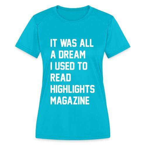 JUICY 1 - Women's Moisture Wicking Performance T-Shirt