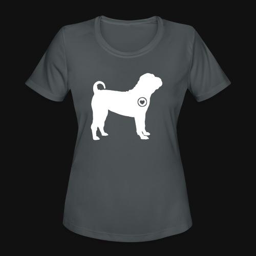 Shar Pei love - Women's Moisture Wicking Performance T-Shirt