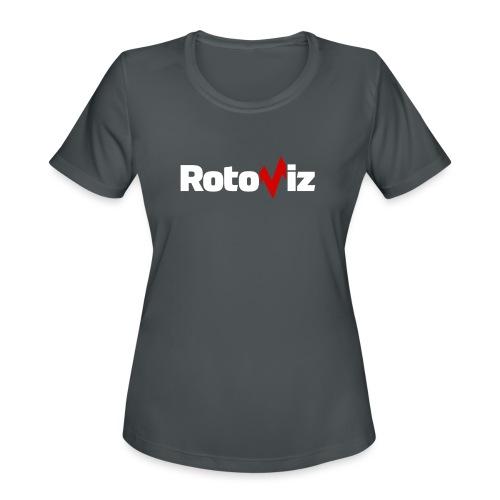 RotoViz - Women's Moisture Wicking Performance T-Shirt