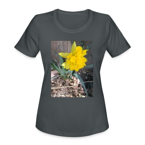 YELLOWFLOWER by S.J.Photography - Women's Moisture Wicking Performance T-Shirt