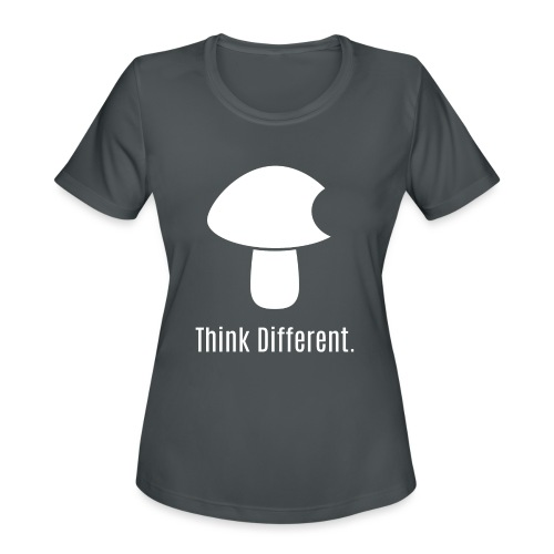 Think Different. - Women's Moisture Wicking Performance T-Shirt