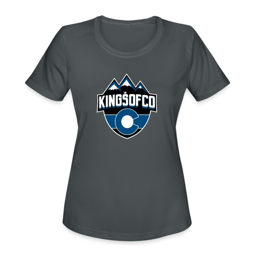 KCO New Logo Clear Background.png - Women's Moisture Wicking Performance T-Shirt
