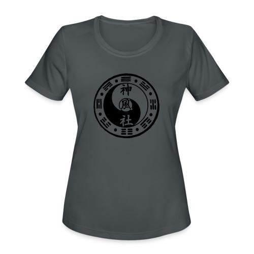 SWC LOGO BLACK - Women's Moisture Wicking Performance T-Shirt